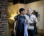 Rodney Dickson with Jonatan Lopez at DiverseWorks courtesy Alex Barber HD